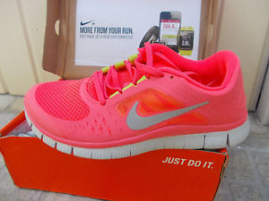 New Hot Pink Nike Free Run 3 5 0 Women's Running Shoes | eBay