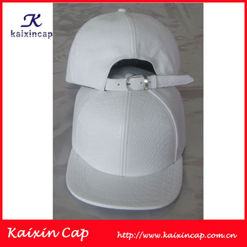 Snakeskin Brim Cap Strap Back Plain White Snake Pattern Hat - Buy Snakeskin Brim,Snakeskin Leather Strap,White Snakeskin Cap Product on Alibaba.com