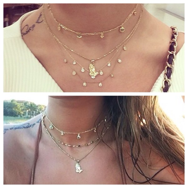 jewels gold necklace coins little coins niykee heaton short necklace gold necklace jewelry necklace