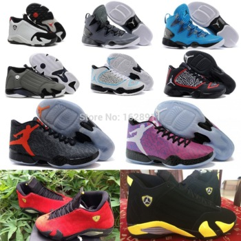 Fast delivery 2015 mens black red shoes,cheap jordan 14 28 29 xiv zapatillas deportivas chaussures mujer us size 8 13