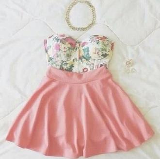 dress t-shirt style skirt nice