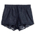 ROMWE | ROMWE Drawstring Lace Pocketed Black Shorts, The Latest Street Fashion