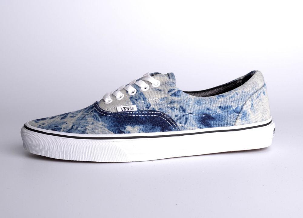 "Vans ""Era"" Acid Denim Blue | eBay"