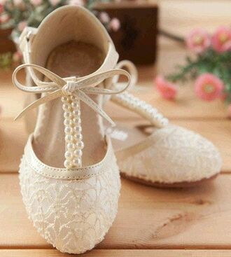 shoes flats ballet pumps prom pretty wedding shoes
