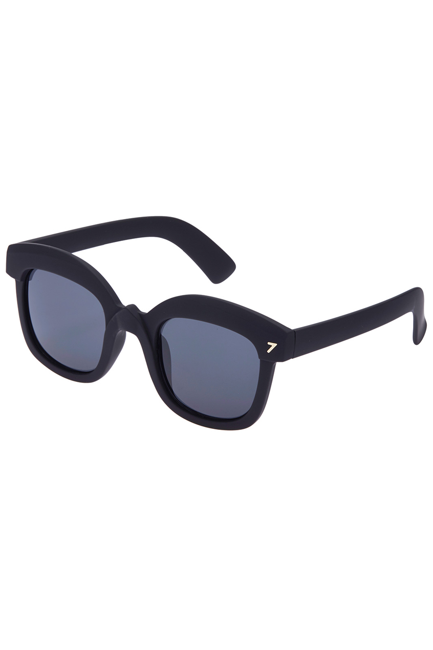 ROMWE | ROMWE Black Square Sunglasses, The Latest Street Fashion