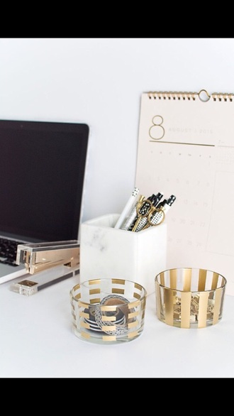 home accessory classy gold desk office supplies