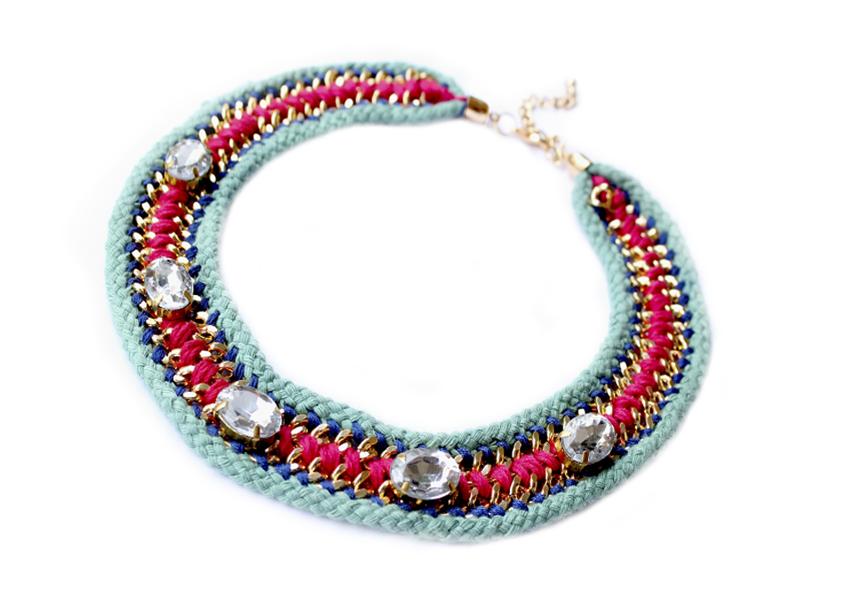Créateurs bijoux fantaisie vintage : Bijoux fantaisie cr?ateur en ligne les jumelles collier