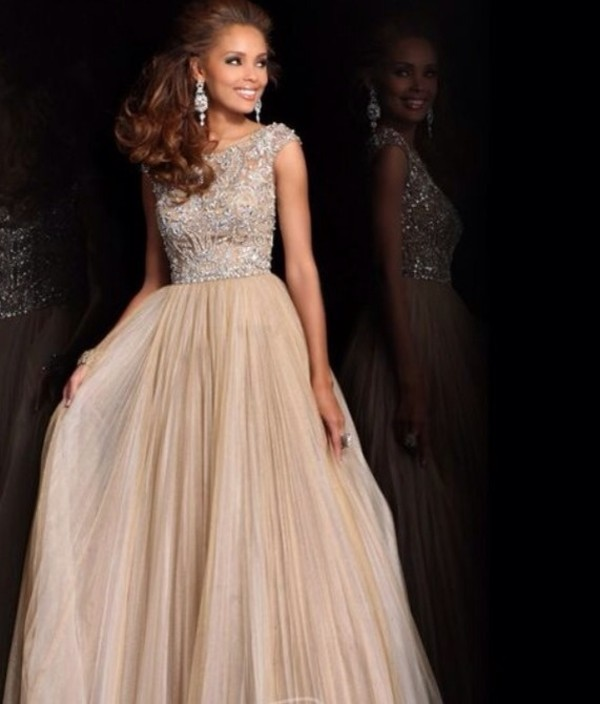 dress prom dress cream dress sherri hill long dress peach prom dress long prom dress sherri hill nude dress