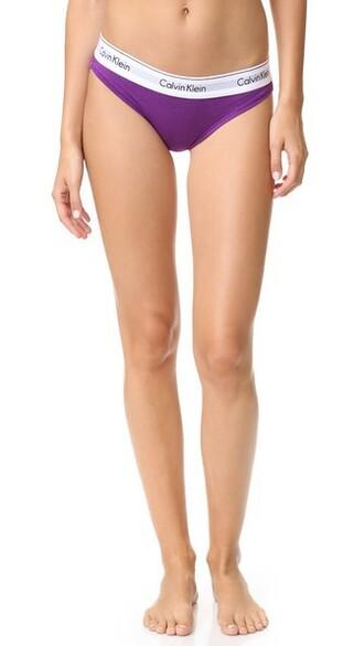 bikini cotton violet swimwear