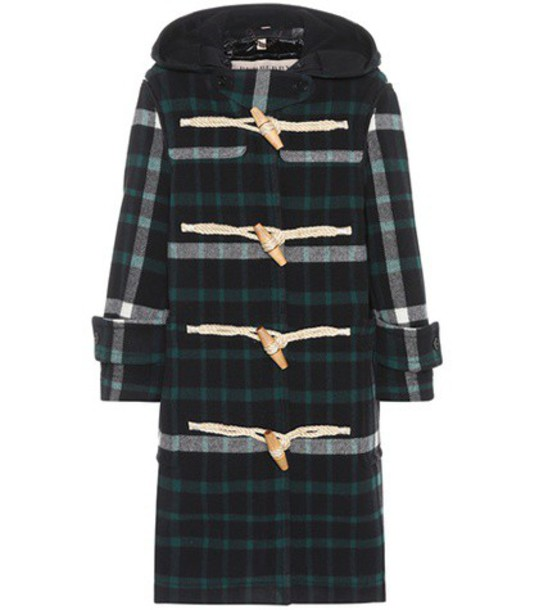 Burberry coat wool