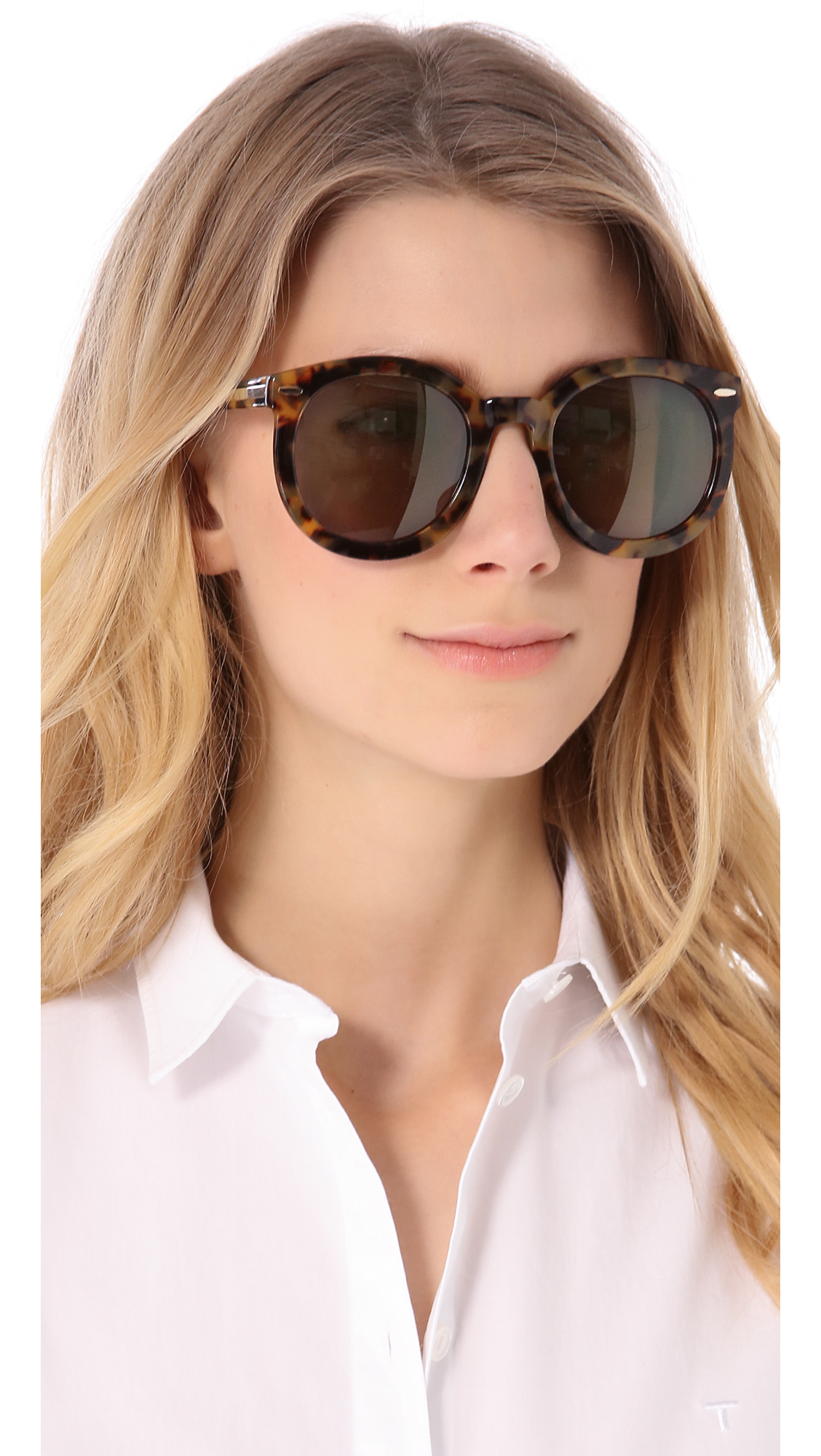 f8f565286 Karen Walker Super Duper Strength Sunglasses | SHOPBOP