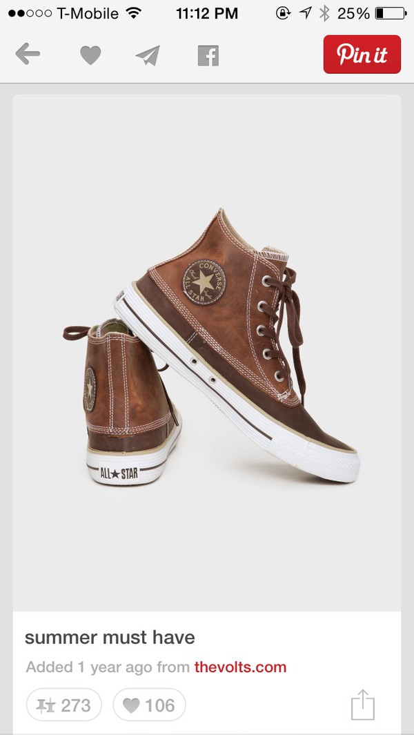 shoes converse chuck taylor all stars brown shoes leather vintage