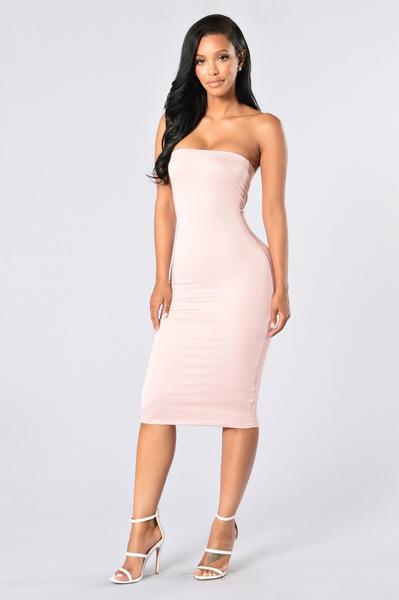 Anna Dress - Blush | Fashion Nova