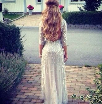 dress prom dress long prom dress sequin prom dress long dress beautiful cut-out cut-out dress backless dress backless prom dress backless prom silver glitter dress silver dress glitter please!! helpmefindthis