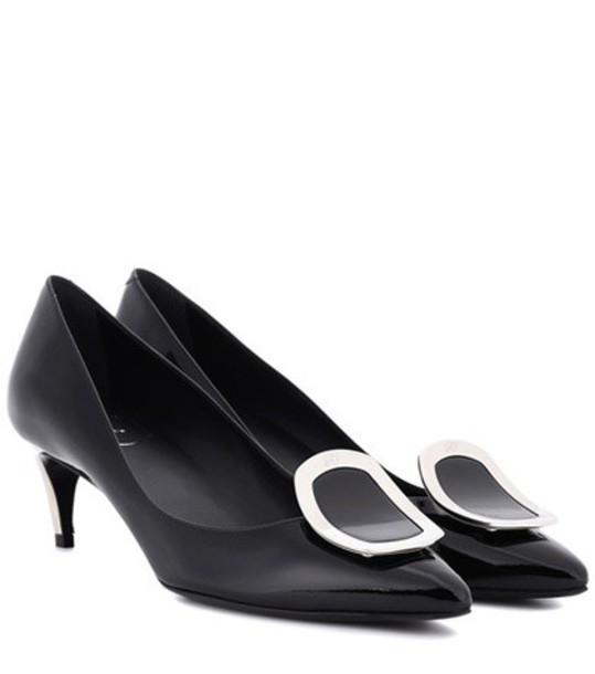 Roger Vivier sexy pumps leather black shoes