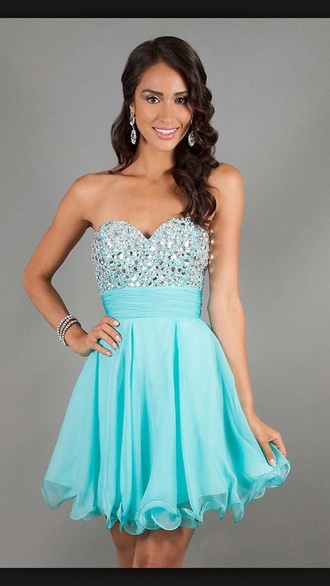 dress tiffany blue style