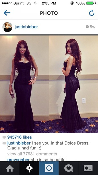 dolce prom mermaid prom dress dolceandgabanna dolce and gabbana dolcegabbana prom dress prom gown formal event outfit black long prom dress long dress bodycon dress