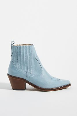 Chio Adele Patent Ankle Boots