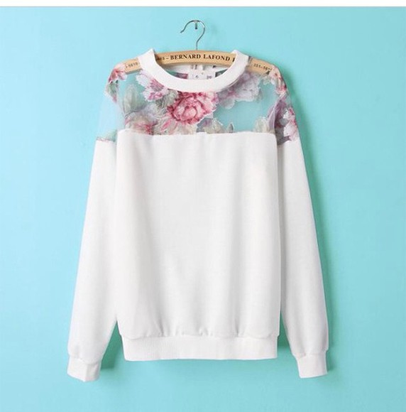 style sweater shirt floral shorts cute sweaters