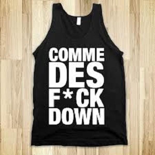 t-shirt comme des fuckdown