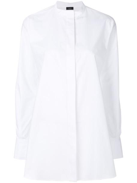Joseph shirt collar shirt women white cotton top