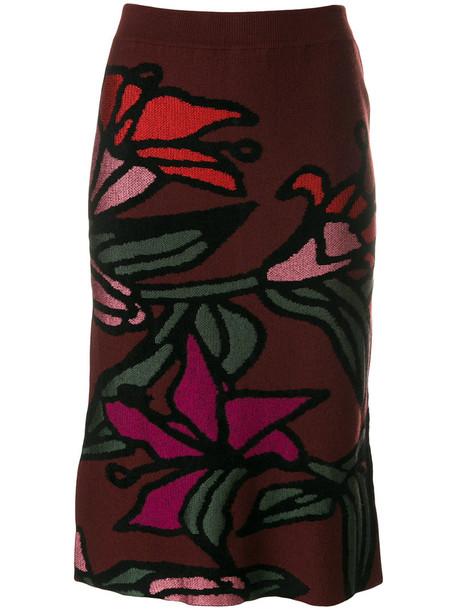 Christian Wijnants - Khani skirt - women - Polyamide/Viscose/Virgin Wool - M, Polyamide/Viscose/Virgin Wool