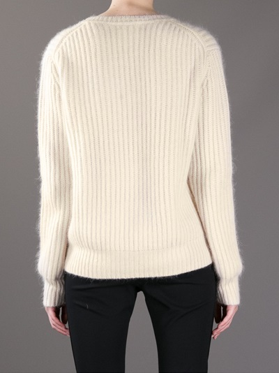 Acne 'rakel' Ribbed Jumper - Anita Hass - Farfetch.com