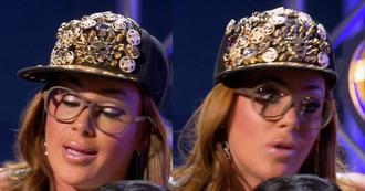 hat gold bling snapback flat cap flatcap black shannon sarich bgc bad girls club bad girls all star battle bgc10 bgasb