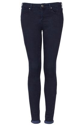 MOTO Indigo Leigh Jeans - Topshop