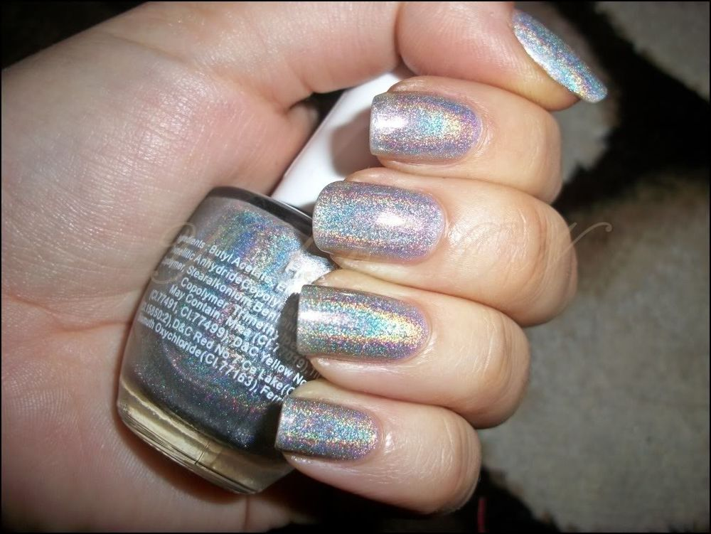 New Catherine Arley Holographic Nail Polish N676 14ml | eBay
