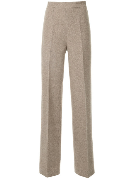 Ermanno Scervino high women nude wool pants