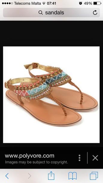 shoes aztec style