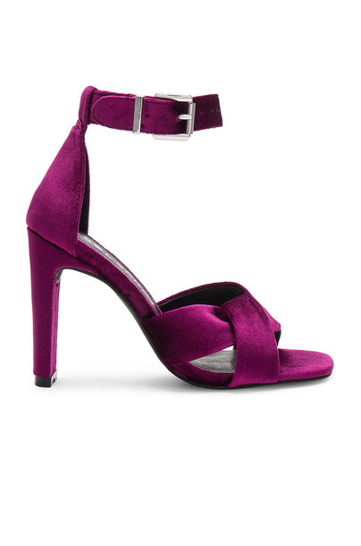 Sol Sana heel purple shoes