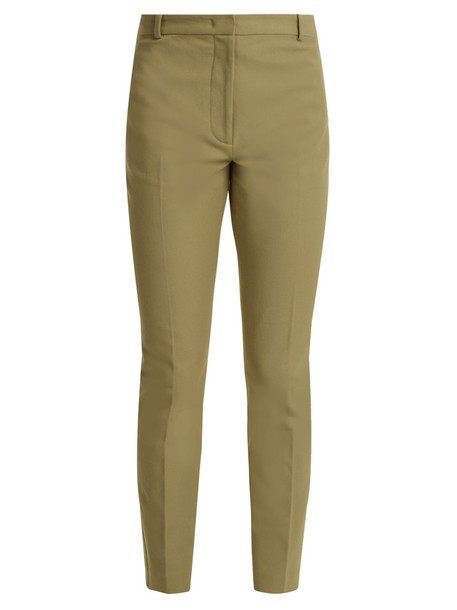 Joseph cropped green pants