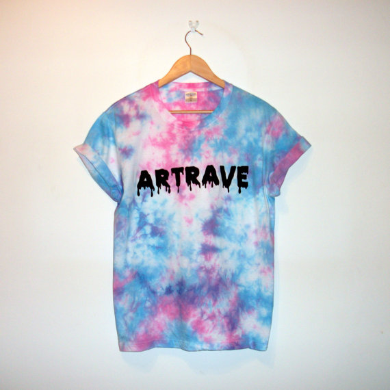Gaga inspired 'artrave' tshirt by voidandworth on etsy