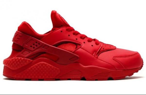 Shoes Red Shoes Red Nike Huarache Women