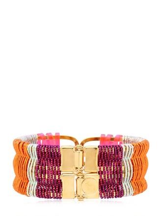 beach pink orange jewels