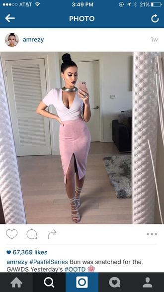 blouse amrezy missguided lilac