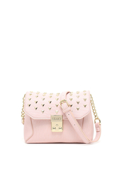 bag,liu jo,shoulder bag,pink bag,nude