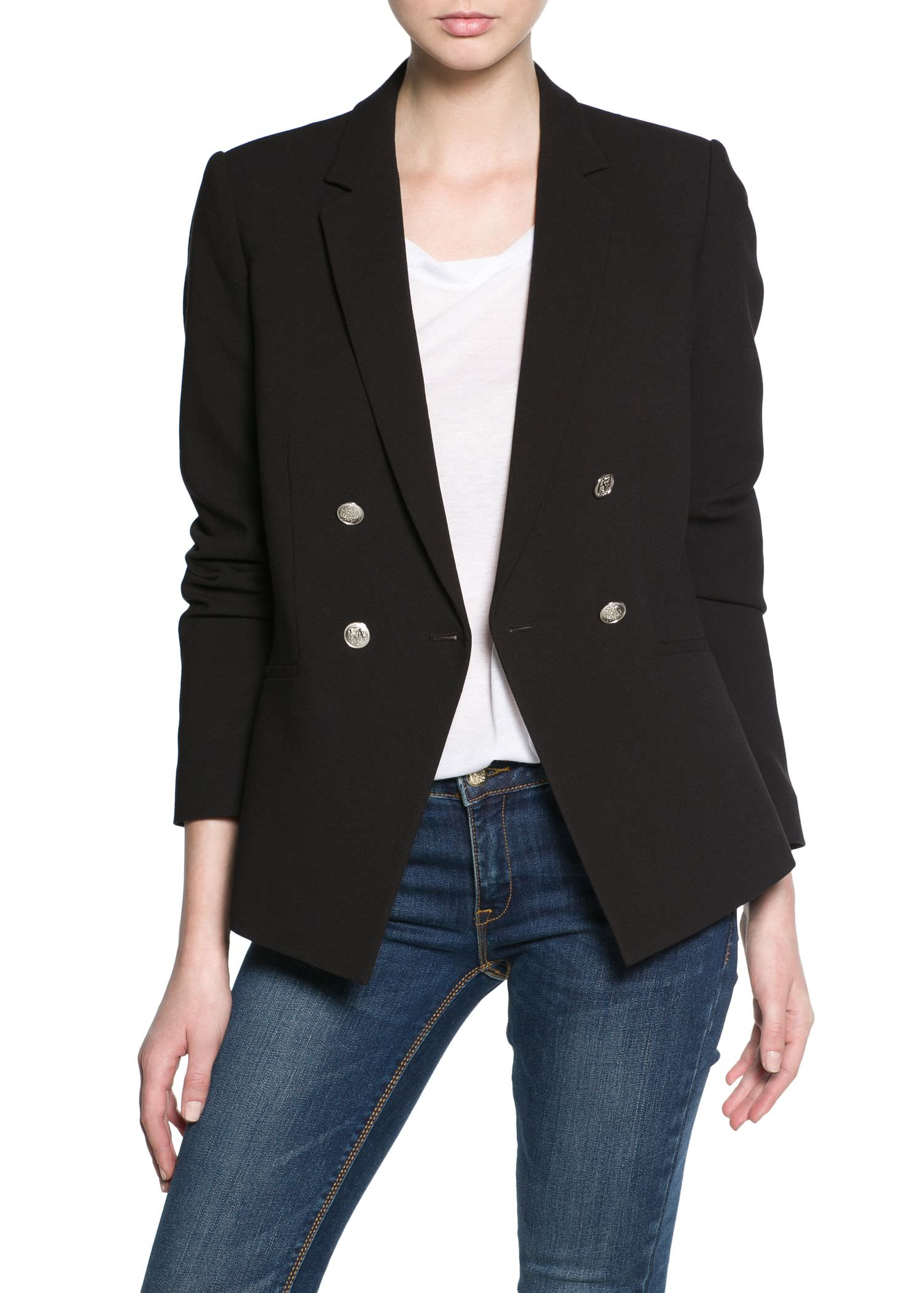 breasted blazer - Jackets for Women | MANGO
