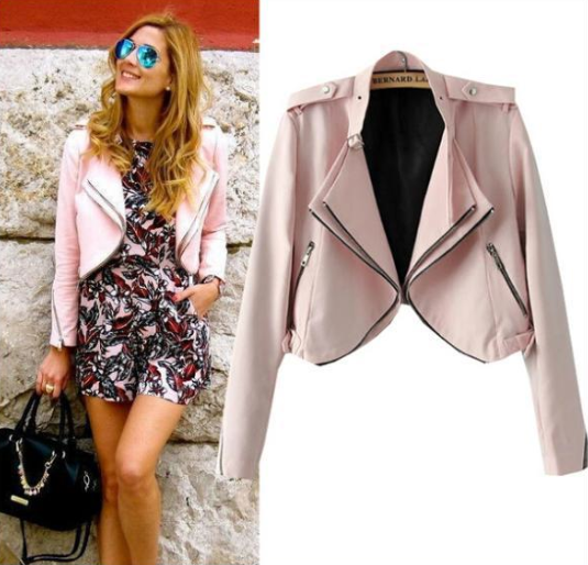 Wherever we go pink jacket
