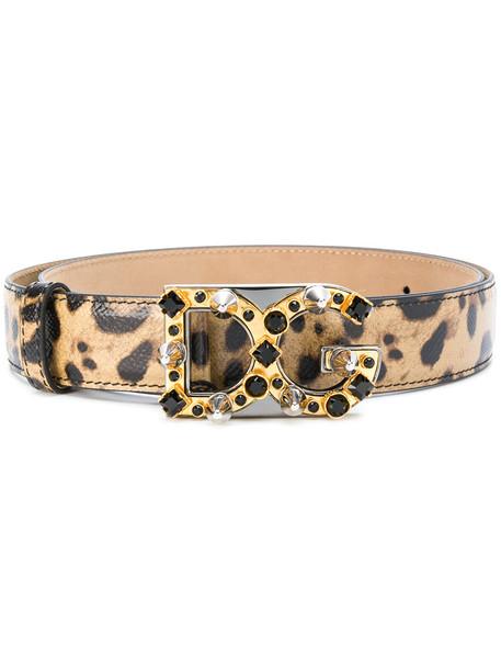 belt print leopard print