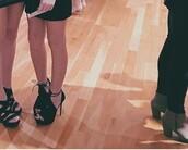shoes,black,high heels,pumps,open toes