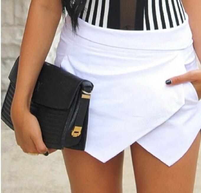 Geometric shorts
