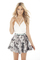 Sabo skirt  greyscale reverie skirt