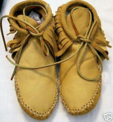 Men's Minnetonka Double Deerskin Softsole Moccasins | Boot Barn