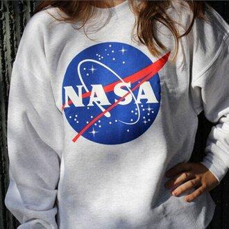 sweater nasa galaxy print sweatshirt stars