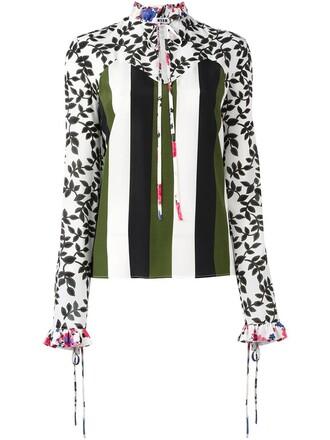 blouse women silk top