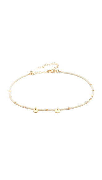 necklace choker necklace white jewels