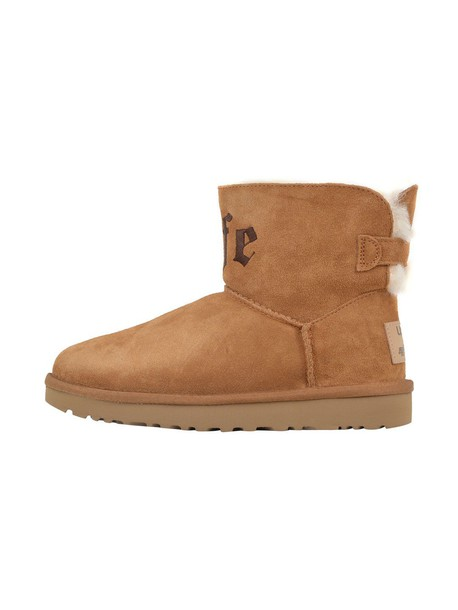 Ugg boot mini brown beige shoes